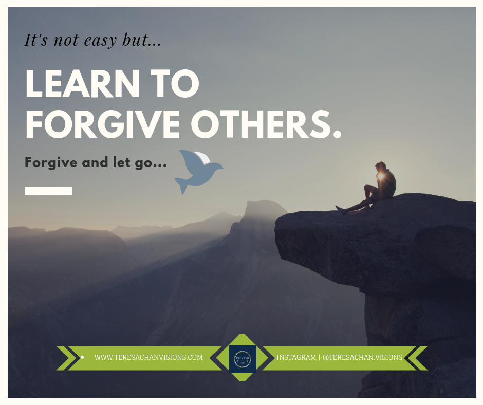 Learn To Forgive Others